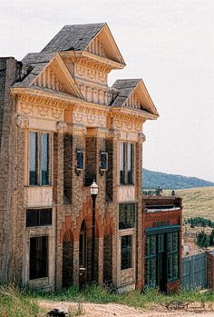 Victor, Colorado.. One of the old mining towns we go thru off the back stagecoach routes.