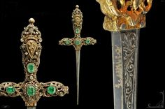 Luxurious dagger, Italy 19th century.
