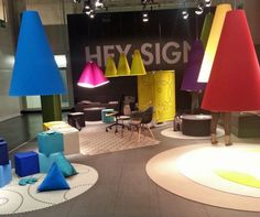 Hey Sign! at Imm Cologne, via www.thedesignsheppard.com