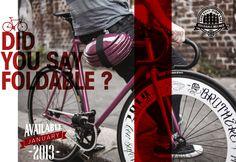 Foldable Helmet Available since 2013