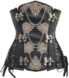 Searching for a quality underbust corset? Find top of the line underbust corsets from Corset Deal here! Mode Steampunk, Style Steampunk, Steampunk Corset, Steampunk Costume, Steampunk Clothing, Steampunk Fashion, Gothic Fashion, Emo Fashion, Gothic Corset