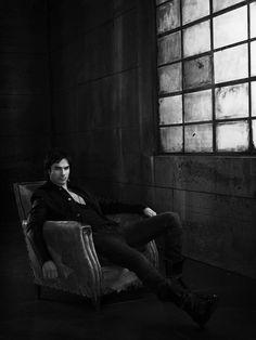 Йен Сомерхолдер — Фотосессия для «Дневники вампира» 2011 – 4