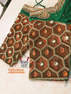 Cutwork Blouse Designs, Bridal Blouse Designs, Blouse Patterns, Mirror Work Blouse, Aari Work Blouse, Cut Work, Blouse Styles, Wedding Designs, Women Wear