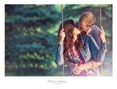 Romantic country engagement photo shoot by Melissa Avey Photography#engagement