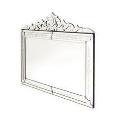 GO Home Extra Large Horizontal Venetian Mirror
