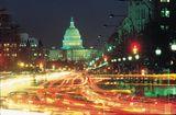 US Capitol at Night.