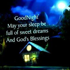 Good Night, God Bless & Sweeeeet dreams. Love you my Sweet Angel Sister's! ¥!ck!£