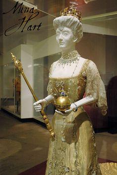 Queen Maud of Norway's Coronation gown 1906