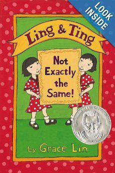 """Ling & Ting: Not Exactly the Same!"" by Grace Lin {One in a set of books about identical twins} ting, reading levels, summer read, exact, read level, ling, grace lin, children book, kid"