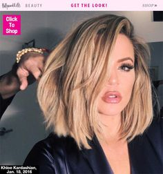 Khloe Kardashian Hair Kocktails With Khloe