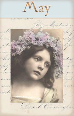 "Victorian ""Calender Girls"" ~ May"