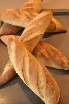 Homemade French Baguettes