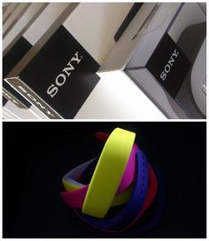 What's inside the box? Colorfoul Sony SmartBands!