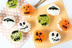 This Monster Sushi Will Make Your Halloween Party  Spooktacular via Brit + Co