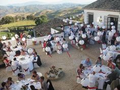 Wedding banquet in Spain