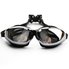 1d0e4eade88 Anti-fog Adult Swim Goggles Waterproof Swimming Glasses Eyewear Clear  Vision Under Water Swimming Glasses