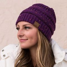 Trending and REALLY POPULAR, these beanies are COMFY and PRACTICAL! They are perfect to heat you up on those cold days while still adding style to your outfit! Get these HOT colors while they last! Cc Beanie, Knit Beanie, Cc Hats, Lazy Day Outfits, Hair Ribbons, Hats For Sale, Getting Cozy, Cold Day, Cozy Sweaters