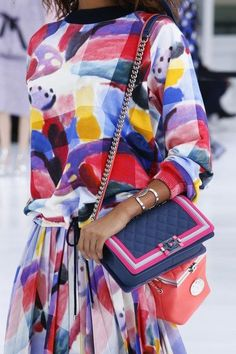 Favourite bags, shoes, airplane brooches, and clothes from the Chanel  Airlines Spring 2016 Collection. PurseBop 4ea73cf61b