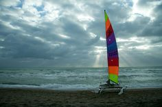 Ostia. Hobie Cat 16