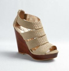#We do a lot of walking in NYC so a wedge is necessary! I love how this pair is so neutral it goes with everything in my closet-Andrea, Social Media Marketing