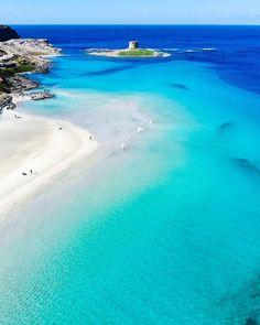 ITALY – La Pelosa di Stintino, Sardegna © Giusi Casada We are want to say tha. - New Ideas Italy Vacation, Vacation Places, Dream Vacations, Italy Travel, Vacation Spots, Italy Trip, Croatia Travel, Beautiful Places To Travel, Wonderful Places