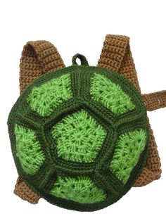 Crochet Handmade Turtle Backpacks for Boys and Girls 9 Months up | Rudelyn's Sari Sari Store