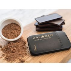 Chocolate that's good for your skin Bali Body Cacao Tanning Oil contains all… Coconut Oil Tanning, Natural Tanning Oil, Sun Kissed Hair, Elegant Wedding Hair, Good Enough To Eat, Skin Food, Organic Coconut Oil, Flawless Skin, Tan Lines