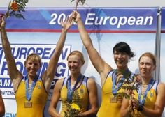 Ukrayna'nın dört kişilik bayan kürek takımı 2012 Londra Olimpiyat Oyunlarında ülkeye ikinci altın madalyayı kazandırdı. Katerine Tarasenko, Natalya Dovgodko, A