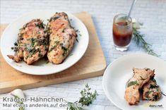 Kräuter-Hähnchen – Grill-Rezept zum selber machen