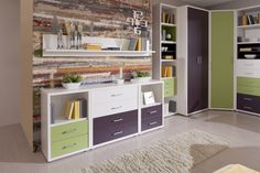 Detská izba Point Plus / Childrens room Point Plus Points Plus, Lockers, Locker Storage, Cabinet, Room, Furniture, Home Decor, Jelly Cupboard, Home Furnishings