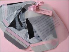 ♥ Pinterest : Mutine Lolita ♥ Album photo baptême en souvenir pour les invités!