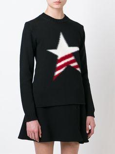 Msgm Fuzzy Star Sweater - Petra Teufel - Farfetch.com