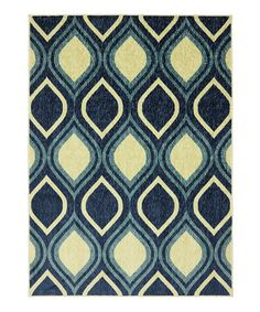 Take a look at this Ornamental Ogee Rug by Mohawk Home on #zulily today!