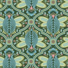 Tula Pink Flutterby green forrest, one of my favorite fabrics of all time.