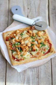 Barbecue chicken pizza - Lekker en Simpel