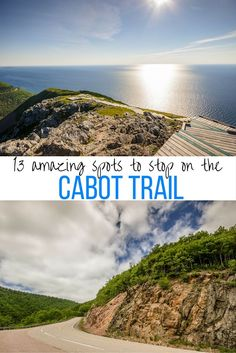 Learn where to go in Cape Breton Island with these 13 amazing spots worth stopping for on the Cabot Trail in Nova Scotia, Canada. Add these stops on your Cabot Trail itinerary. Pvt Canada, Visit Canada, Canada Trip, East Coast Travel, East Coast Road Trip, East Coast Canada, Nova Scotia Travel, Cabot Trail, Canadian Travel