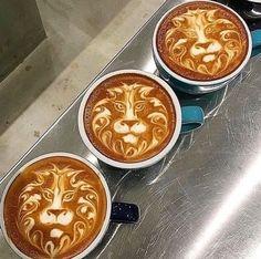Triple coffee ☕️ Cappuccino Art, Coffee Latte Art, Cappuccino Machine, I Love Coffee, Coffee Cafe, Best Coffee, Coffee Drinks, Drinking Coffee, Coffee Humor