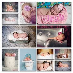 Sparkly and sweet inspiration for your #newborn baby girl session with #JJPhoto  |  Jennifer Jayne #Photography