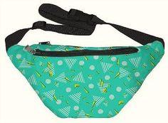 80s Pattern Belt Pack (Fanny Pack) Waist Bag