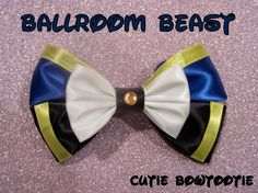 Hey, I found this really awesome Etsy listing at http://www.etsy.com/listing/118867803/ballroom-beast-hair-bow-beauty-and-the