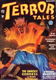 Terror Tales magazine.