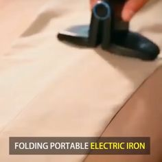 👔👔Using this Folding Portable Iron to iron a wide range of clothing like a traditional iron. 😊😊For small areas such as collars, pockets or trouser legs, simply clip the sides of the iron. Make your travel hassle free with Portable Folding Iron! Home Gadgets, Gadgets And Gizmos, Spy Gadgets, Useful Gadgets, Office Gadgets, Camping Gadgets, Electronics Gadgets, Kitchen Gadgets, Mini Iron