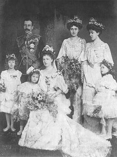 The wedding of Alice of Albany and Alexander of Teck.