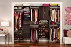 ClosetMaidu0027s SuiteSymphony, A Laminated Wood Closet System, Is Ideal For  Storage Space In Your Walk In Or Reach In Closet.
