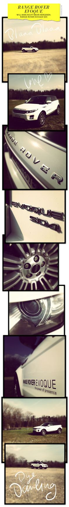 Range Rover Evoque - Very Cool Edits!