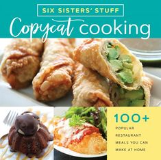 Copycat cooking : popular restaurant meals you can make at home by Six Sisters' Stuff. ([Salt Lake City, Utah] : Shadow Mountain, Enjoy quick-and-easy homemade versions of your favorite recipes from popular restaurants. Enchilada Casserole Beef, Noodle Casserole, Sweet Potato Casserole, Casserole Recipes, Spaghetti Casserole, Cowboy Casserole, Chicken Casserole, Chicken Enchiladas, Spinach Enchiladas
