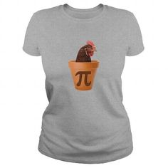 Chicken Pot Pi TShirts LIMITED TIME ONLY. ORDER NOW if you like, Item Not Sold Anywhere Else. Amazing for you or gift for your family members and your friends. You'd sure look nice in one of our shirts! Pi Day Shirts, Pi T Shirt, Cool Tees, Awesome, Amazing, Race Cars, How To Look Better, T Shirts For Women, Chicken