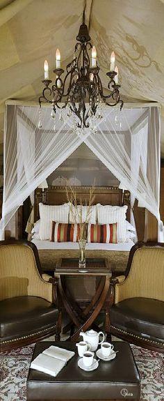 Luxury Tent Camp ~ Safari