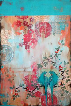 Museo Gallery Garden Show 2014-new Kathe Fraga painting