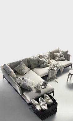 Feel good sofa Wohzimmer Sofa Furniture, Sofa Chair, Couch, Armchair, L Sofas, Pallet Ideas Easy, Beach Room, Sofa Styling, Soft Seating